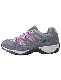 Mountain Warehouse Direction Women's Waterproof Shoes - Isodry, Waterproof, Suede & Mesh Upper with Phylon Midsole & EVA Footbed - Great for Muddy Trails & Woodland