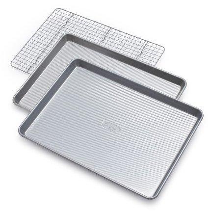 Sur La Table Platinum Professional Bakeware 21350ST, Set of 3