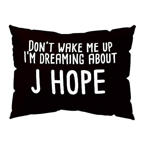 Amazon.com: LOKODO Kpop funda de almohada no me despierta ...