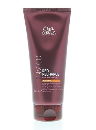 Amazon.com: Wella Invigo - Recarga de color rojo cálido (6.8 ...