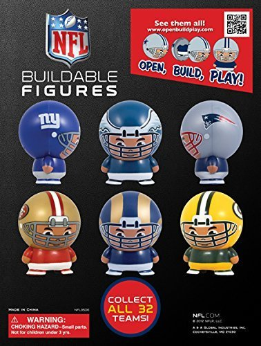 NFL FOOTBALL Buildable (12