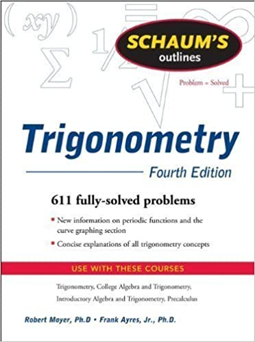 Schaum's Outline of Trigonometry, 4th Ed.