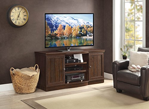 Whalen Furniture Arvilla Console, 70-Inch (Flat Wooden Tv Stands Screen)