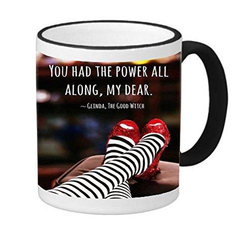 wizard of oz good witch mug - 5