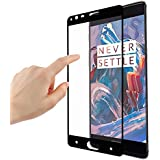 TiSec Full Screen Tempered Glass Screen Protector For One plus 3T / Oneplus 3T / Oneplus 3 / One Plus Three / One Plus 3 / Oneplus Three