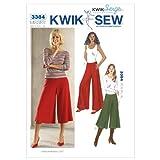 Kwik Sew K3384 Pants Sewing Pattern, Size XS-S-M-L-XL