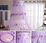 Best Prints Prints Prints Bed Canopies - Qishi's Romantic Rose Printing Vintage Round Lace Princess Review