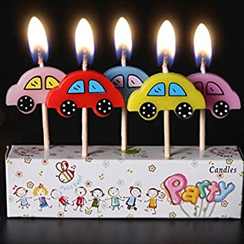 Amazon Com Birthday Candles Kids Child Boys Girls Cute Cartoon