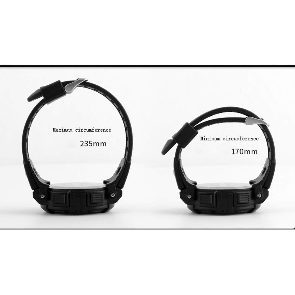 CMmin herr ultra Thin Fashion minimalist armbandsur – stor urtavla vattentät Casual Watch Dress armbandsur (färg: - röd