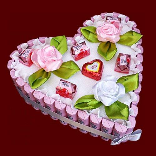 Herz Torte Aus Schokolade Yogurette Muttertag Vatertag Pralinen
