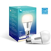 Kasa Smart Wi-Fi LED Light Bulb by TP-Link - Tunable White, Dimmable, A19, No Hub Required, Works with Alexa & Google Assistant, Also Available for California residents (KL120)