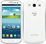 Samsung Galaxy S3 SCH-I535 Verizon Phone, 16GB, Marble Review and Comparison
