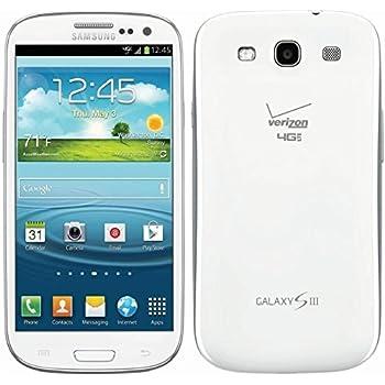 samsung galaxy s3 white. samsung galaxy s3 sch-i535 verizon phone, 16gb, marble white n
