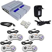Super Nintendo classic Mini Multijogos Raspberry Pi3 + 9000 Games + 4 Controles + HDMI
