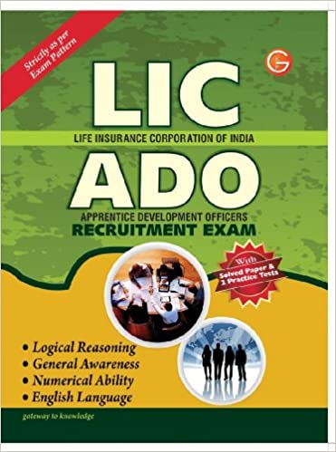 Lic Ado Exam Books Pdf