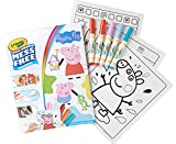 Crayola Color Wonder Peppa Pig Coloring Book Pages & Markers, Mess Free Coloring, Gift for Kids