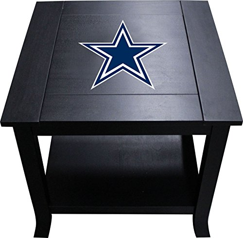 Imperial Officially Licensed NFL Furniture: Hardwood Side/End Table, Dallas Cowboys