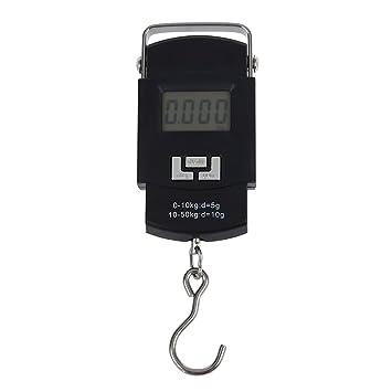 TOOGOO (R) Bascula Digital de Precision Balanza Electronico 50kg¡Á10g: Amazon.es