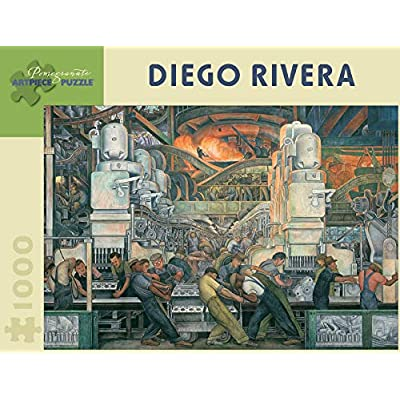 Diego Rivera: Detroit Industry 1,000-piece Jigsaw Puzzle: Pomegranate: Toys & Games