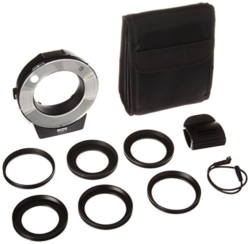 Digital Macro Ring - Metz MZ 15210  Macroslave 15MS-1 Macro Flash Digital Kit (Black)