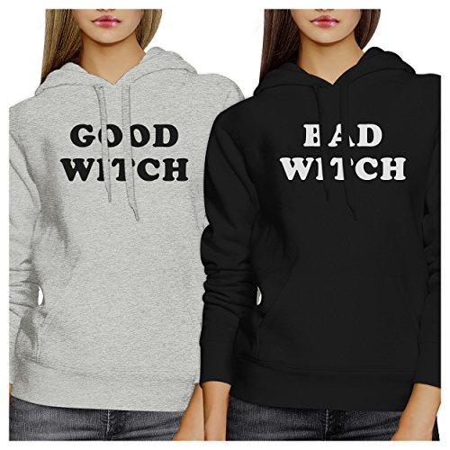 365 Printing Good Witch Bad Witch Best Friend Matching Halloween Hoodies Gifts for $<!--$50.99-->