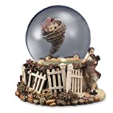 THE SAN FRANCISCO MUSIC COMPANY Wizard of Oz Rotating Tornado 120mm Water Globe