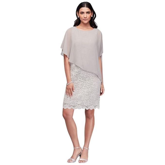 Amazon.com: Glitter encaje vaina vestido de madre de la ...
