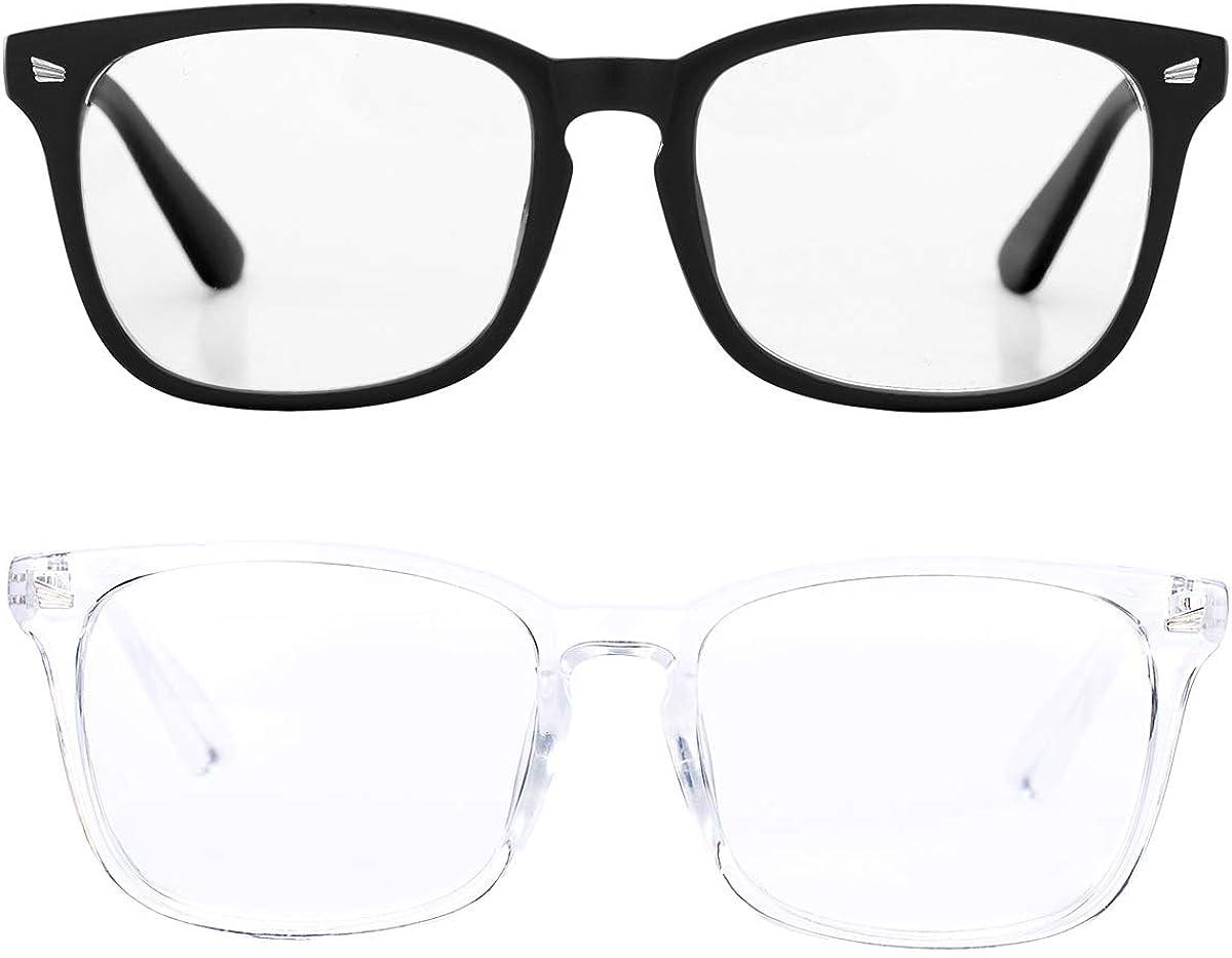 Pro Acme Non-prescription Glasses Frame Clear Lens Eyeglasses (Matte Black + Clear)