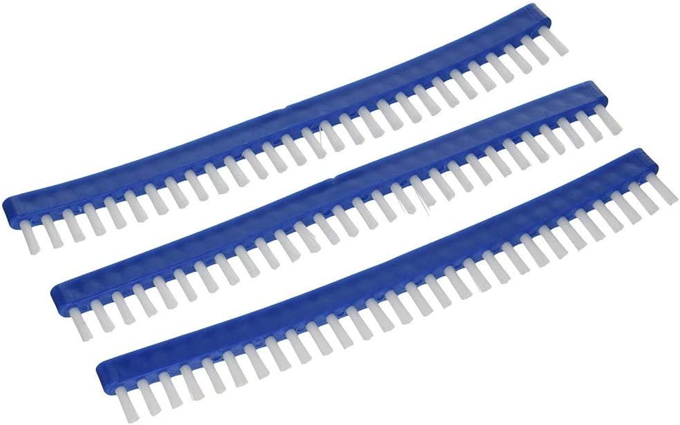 jardiboutique Set of 3/Mop Replacement Head Swimming Pool Brush