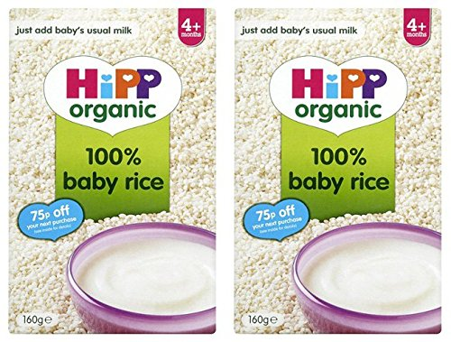 (2 Pack) - Hipp - Baby Rice | 160g | 2 PACK BUNDLE by Hipp