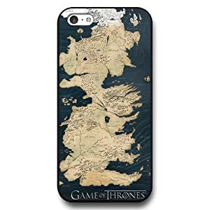 UniqueBox - Customized Personalized Black Hard Plastic 5c Case, Game of Thrones winter is coming iPhone 5C case, Only Fit iPhone 5C Case