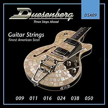 Duesenberg 009-050 DSA09 - Juego de cuerdas para guitarra eléctrica: Amazon.es: Instrumentos musicales