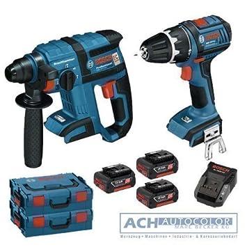 BOSCH - Destornillador inalámbrico GSR 18 V-Li y martillo ...