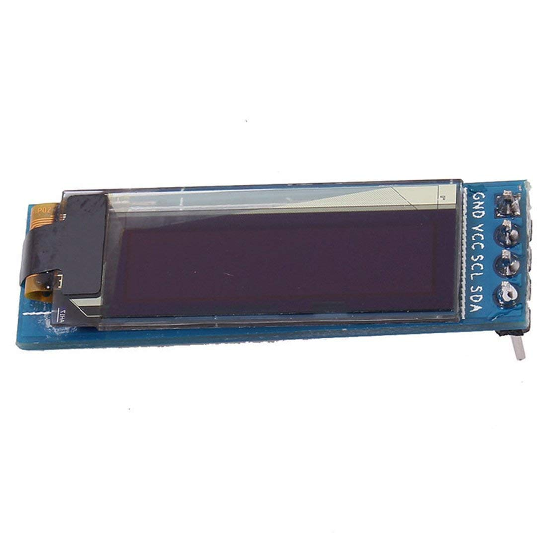 Iic I2c 0.91 128 x 32 White Oled Lcd Display Module 3.3v 5v For Arduino Pic 0.91 Inch Display Module White