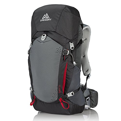 Gregory Mountain Products Zulu 35 Liter Men's Backpack, Feldspar Grey, Medium
