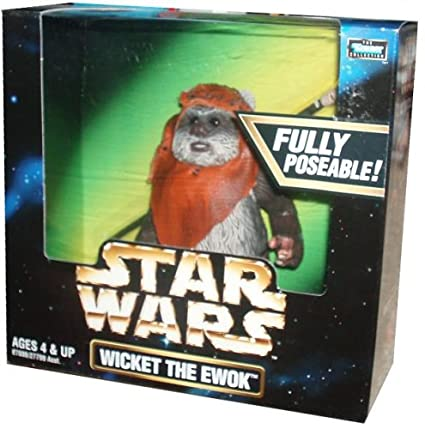 ff73c99b9 Image Unavailable. Image not available for. Color  Kenner STAR WARS WICKET  THE EWOK ...