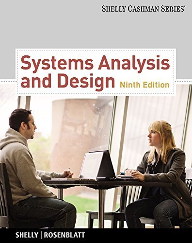 Systems Analysis and Design (Book Only) (Shelly Cashman) 9th edition by Shelly, Gary B., Rosenblatt, Harry J. (2011) Hardcover