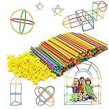 Mastop ToysMastop Toys Straw Constructor Interlocking Plastic Enginnering Toys-Colorful Building Toys- Fun- Educational