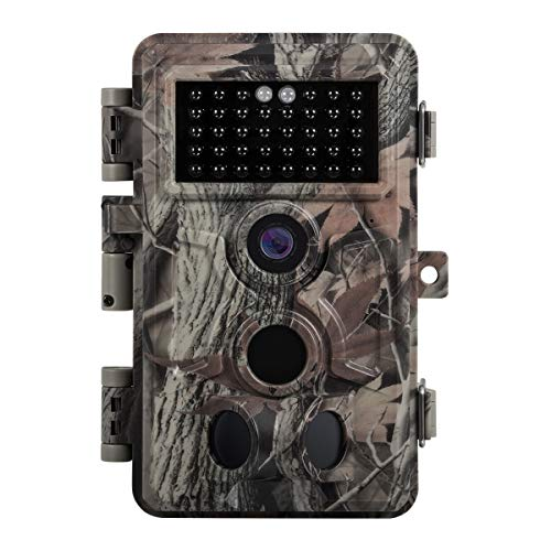 Zopu Trail Game Camera 20MP 1080P, No Glow Night Vision 65ft, 0.2s Motion Activated, Waterproof Wildlife Cam for Nature Field Deer Scouting & Hunting, Indoor & Outdoor Security (Best No Glow Trail Camera)