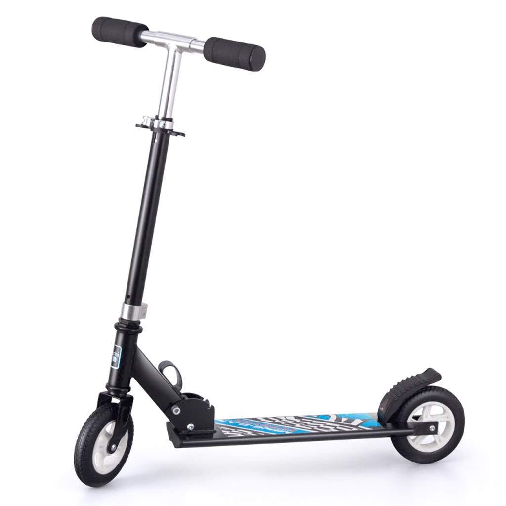 人気商品 Weiyue Weiyue スケートボード- 子供用スクーター大型二輪折りたたみスクーター (色 L75xW86cm : 白, : サイズ さいず : L75xW86cm) B07MCWRV2J L75xW86cm 黒 黒 L75xW86cm, TOKO:878b877a --- a0267596.xsph.ru