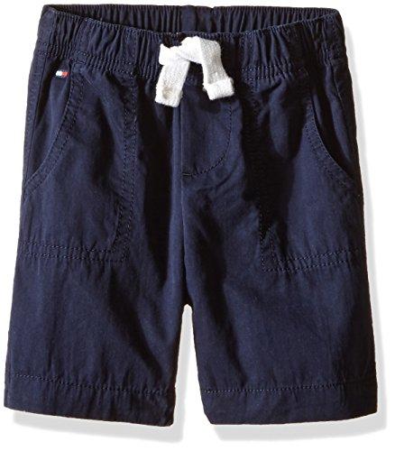 Pork Chop Pocket (Tommy Hilfiger Baby Boys' Pork Chop Pocket Jogger Short, Swim Navy, 3 Months)