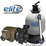 Elite 4 Pond Pack- 4000 Pond Kit with Elite Pump, Elite Filter, and Stainless Steel UV