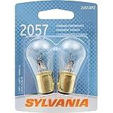 SYLVANIA 2057 Basic Miniature Bulb, (Contains 2 Bulbs)