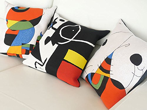 MIRO – PILLOWCASE – Woman, Bird, Star – Extract 2 (1966-73)