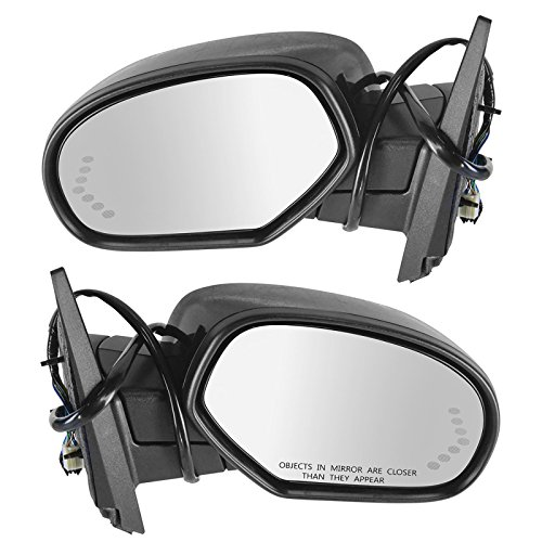 Mirror Power Folding Heated Signal Memory Paint To Match Pair Set for GM - Mirror Power Folding
