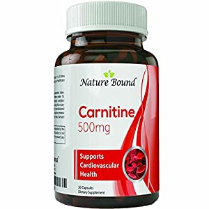 Pure Carnitine L Carnitine Tartrate #1 Dietary Supplement for Weight Loss and Increased Energy Powerful Antioxidant Burns Fat Boosts Metabolism Promotes Hair Growth for Women and Men 500 mg Capsules
