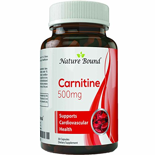 Pure Carnitine L-Carnitine Tartrate #1 Dietary Supplement for Weight Loss and Increased Energy Powerful Antioxidant Burns Fat Boosts Metabolism Promotes Hair Growth for Women and Men 500 mg Capsules
