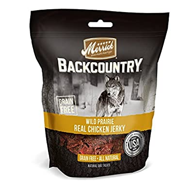 Merrick Backcountry Jerky Dog Treats, 4.5 oz from Merrick Pet Care