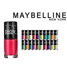 Lot of 12 Maybelline Color Show Finger Nail Polish Collection Set Random