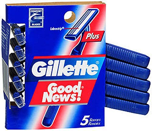 Gillette Daisy Classic Disposable Women's Razor, 5 Count
